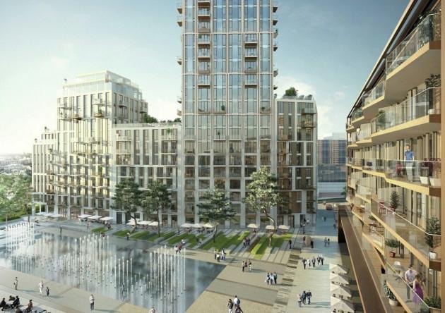 London Dock development