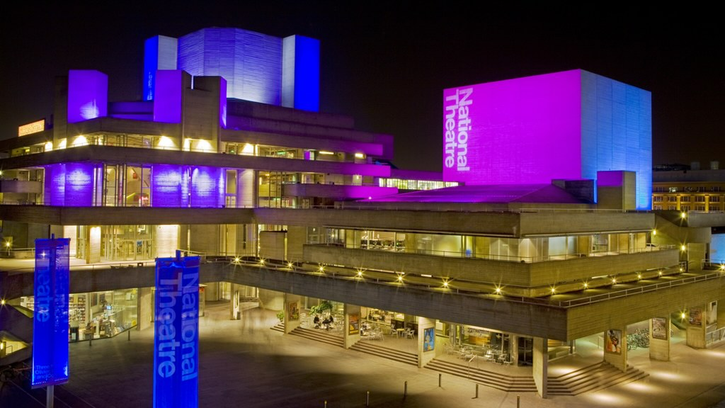 Lighting control panel project at National Theatre