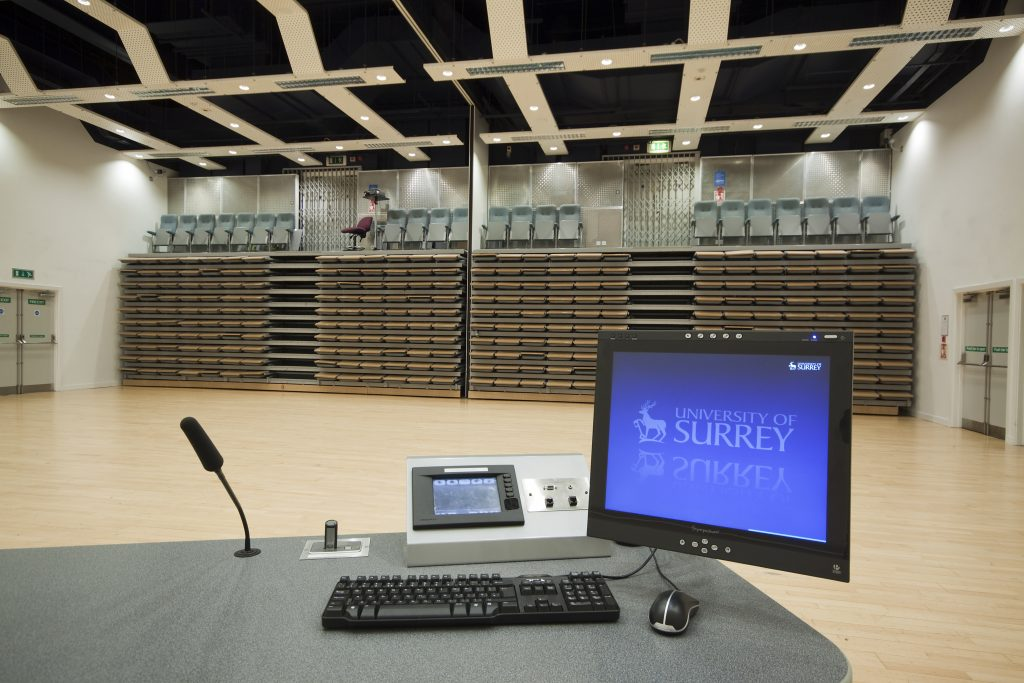 Energy efficient lighting project at University of Surrey